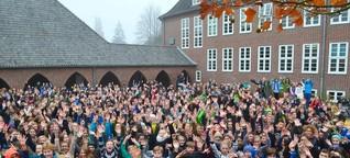 Wie Schüler am größten Gymnasium des Landes lernen