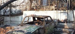 Waldbrände in Griechenland: Leben nach der Schockstarre