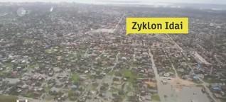 """Sturm """"Idai"""" wütet in Mosambik"""