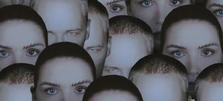 Porträt des russischen Duos Ic3peak: Geflochtene Zöpfe
