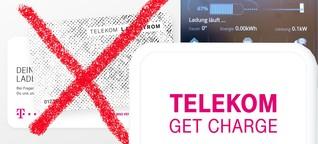 Aus Telekom Ladestrom wird Get Charge