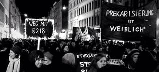 Demo am Frauen*kampftag: Widerstand mit Wunderkerzen
