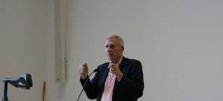 Medien und Verantwortung: Ulrich Wickert an der WiWi-Fakultät
