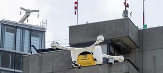 In der Schweiz geübt, in den USA gestartet: UPS kommt mit Drohnenflügen