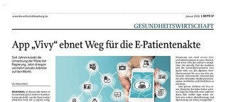 """App """"Vivy"""" ebnet Weg für die E-Patientenakte"""