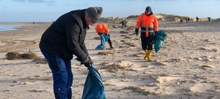 """Angespülte Containerfracht auf Borkum:  """"Der Strand muss sauber"""""""