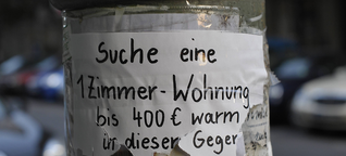Wohnungssuche in Berlin: Sexismus, Bestechung und andere Dreistigkeiten