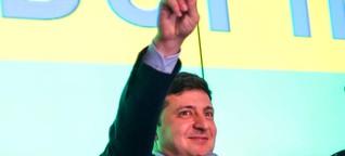 TV-Stars und Komiker in der Politik: Der Ukrainer Selenski hat berühmte Vorbilder