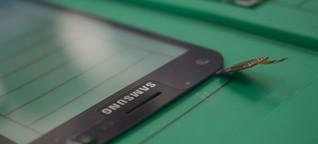Samsung Repair Center im Test: Bye bye, Spider-App   handy.de