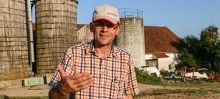 Bauern bleiben auf Getreide sitzen