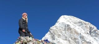 Trekking zum Everest-Basislager: Urlaub auf die harte Tour