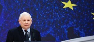 Warum die EU-kritische PiS auf einmal mit Europa wirbt