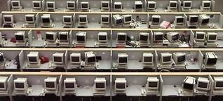 Internet und Datenspeicher: Das Netz vergisst doch