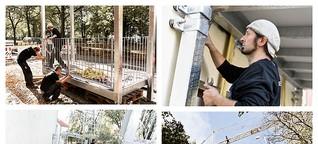 Balkone aus Stahl