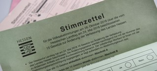 Hessenwahl 2018: Bundesland stimmt morgen auch über die Todesstrafe ab