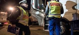 Polizei-Kontrolle: Wenn fast jeder fünfte Brummi-Fahrer betrunken ist