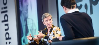 Vestager calls for more access to data for smaller platforms
