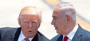 Jubel in Israel nach US-Ankündigung zu Golanhöhen