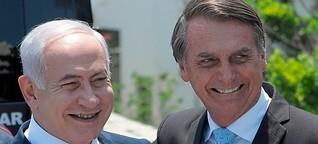 Netanjahu hofft auf ein Wahlgeschenk von Bolsonaro