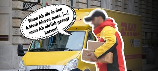 DHL-Bote packt aus, wieso Pakete und Post vor Weihnachten oft nicht ankommen