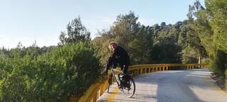 """Langzeitreisen mit dem Trekkingrad: """"Ich erlebe ständig neue Abenteuer"""""""