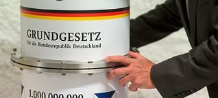Deutschlands Grundgesetz wird 70 Jahre alt