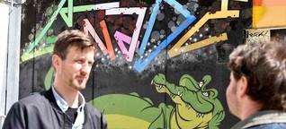 Wuppertal: Graffiti-Rundgang: Zwischen Künstlern und Chaoten