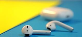 Apple Airpods (2. Gen) mit kabellosem Ladecase im Test