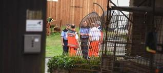 Unfall: Bagger überrollt Frau - tot