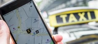 Mobilitätswandel: Bleiben Taxis auf der Strecke?