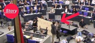 """""""Fridays for Future"""" crashen den Bundestag - aber nicht allen jungen Leuten gefällt das"""