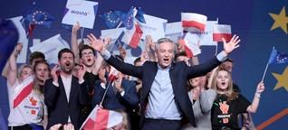 Europawahl: In Osteuropa siegen auch die liberalen Parteien
