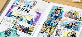 F-Zero - Wie Captain Falcon fast das SNES-Maskottchen geworden wäre