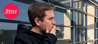 Die Zigarette danach: Mit Kevin Kühnert auf dem Dach