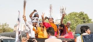 Atishi, die Hoffnung der Protestpartei AAP