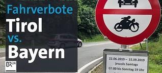 Fahrverbote in Tirol: Aufgestauter Ärger um den Transitverkehr | Kontrovers | BR24