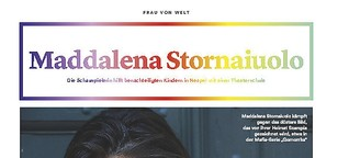 Frau von Welt: Maddalena Stornaiuolo