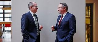 Wortwechsel Dr. Jörg Zeuner mit Dietmar Harhoff, Max-Planck-Institut für Innovation und Wettbewerb