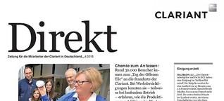 Direkt - Clariant Mitarbeiterzeitung