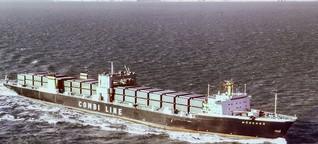"""1978: Container-Schiff """"München"""" sinkt im Atlantik"""