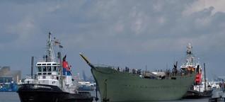 Ein Tag mit dem Pannenschiff Gorch Fock