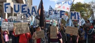 Argentinien: Milliardenkredite und zunehmende Armut