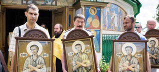 "Ukraine: Russische Kosaken ""verteidigen"" die Ostukraine"