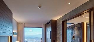 Beleuchtung für das Bürgenstock Hotel & Alpine Spa