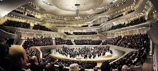 Konzerttempel: Darum hat die Elphi ein Akustik-Problem