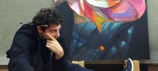 Straßenkunst: An die Wand gemalt