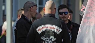 """Polizei geht gegen """"Sturmbrigade"""" vor"""