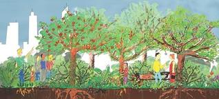 Urban Gardening auf neue Art: In Britz entsteht ein gemeinschaftlicher Waldgarten