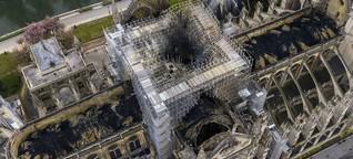 Notre Dame - die Trauer ist übertrieben