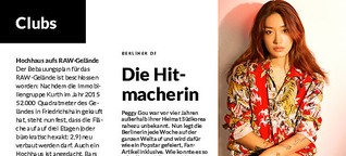 Die Hitmacherin in Zitty 13/2019